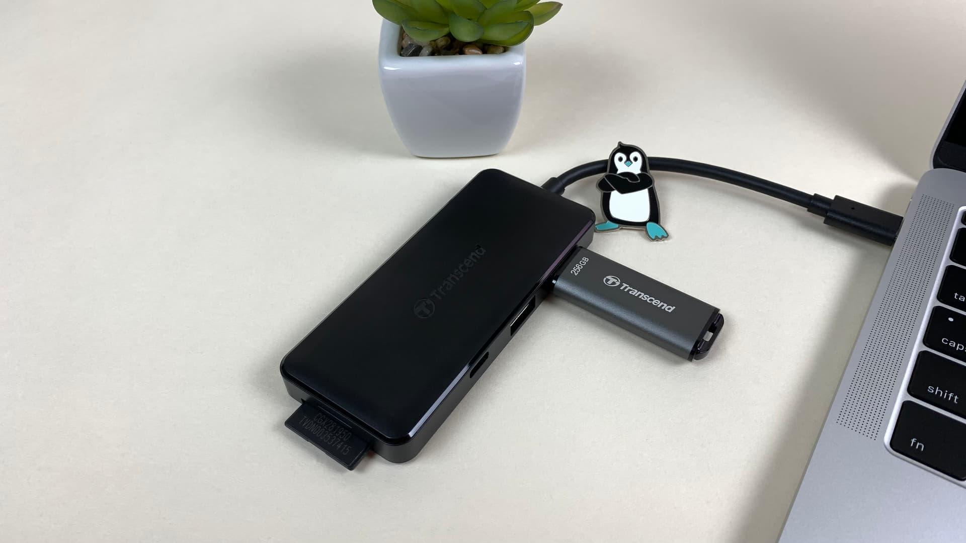 Transcend HUB5C (USB-хаб)