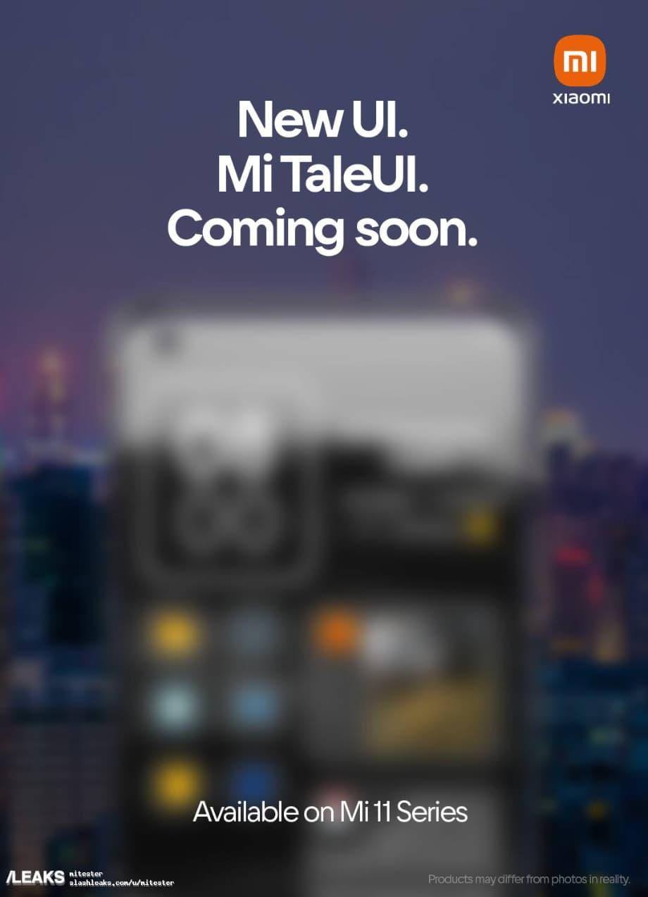 Xiaomi Mi TaleUI