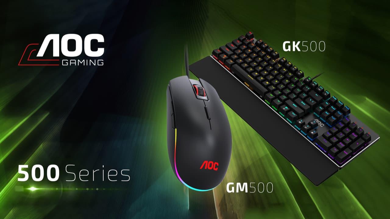 AOC GK500 - AOC GM500
