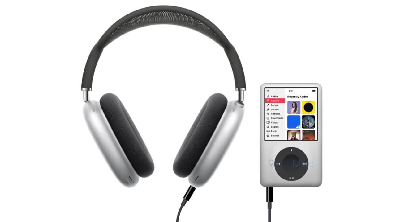 концепт Apple iPod Max та AirPods Max 2