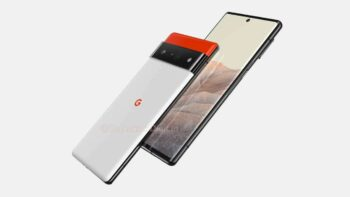 Google Pixel 6 Pro на рендерах