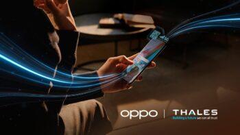 OPPO - Thales - eSIM - 5G SA