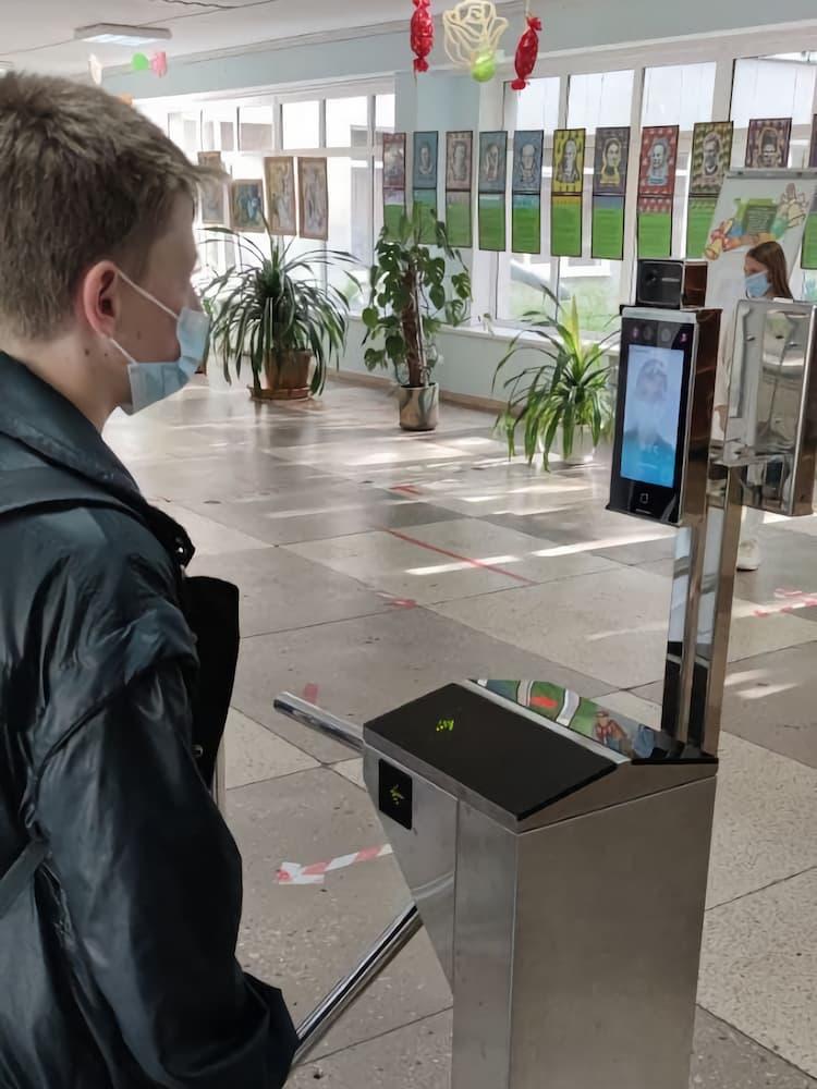 Проєкт біометричної системи безпечного доступу (Київ, Україна)
