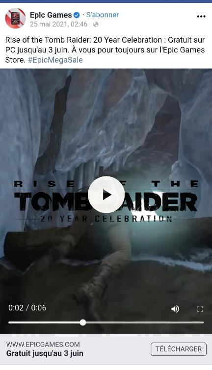 Rise of the Tomb Raider: 20 Year Celebration - Epic Games