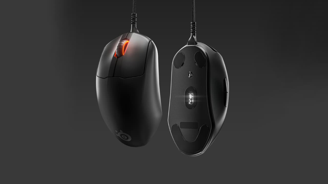 SteelSeries Prime (дротова ігрова мишка)