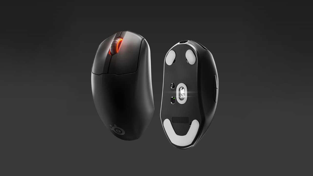 SteelSeries Prime Wireless (бездротова ігрова мишка)