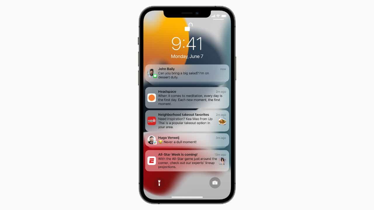 Cповіщення в iOS 15