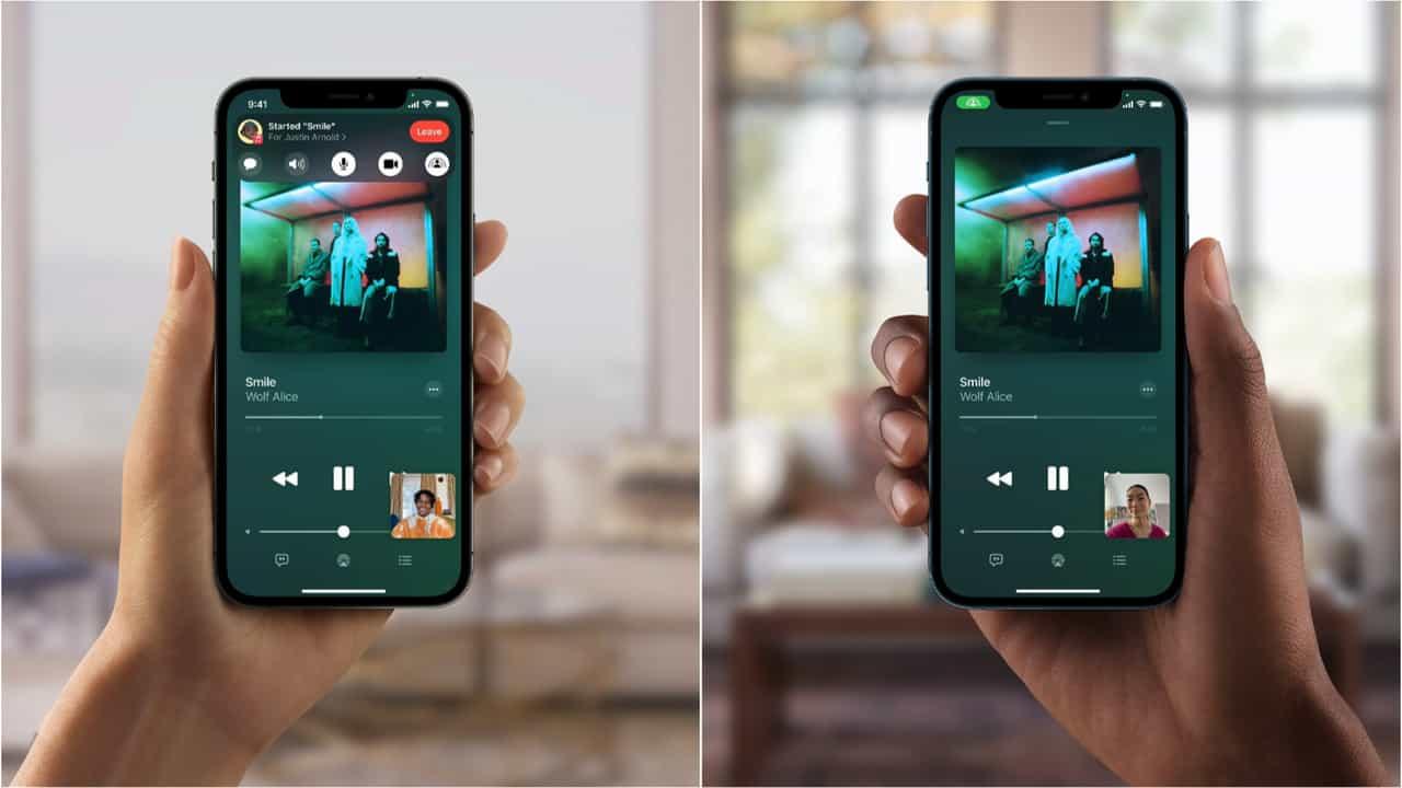 FaceTime - iOS 15
