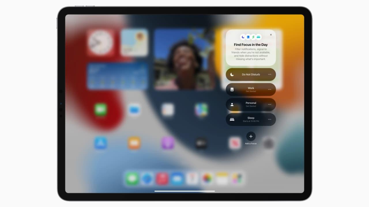 Фокусування - iPadOS 15