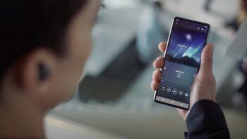 Ймовірний Sony Xperia 1 IV реклама