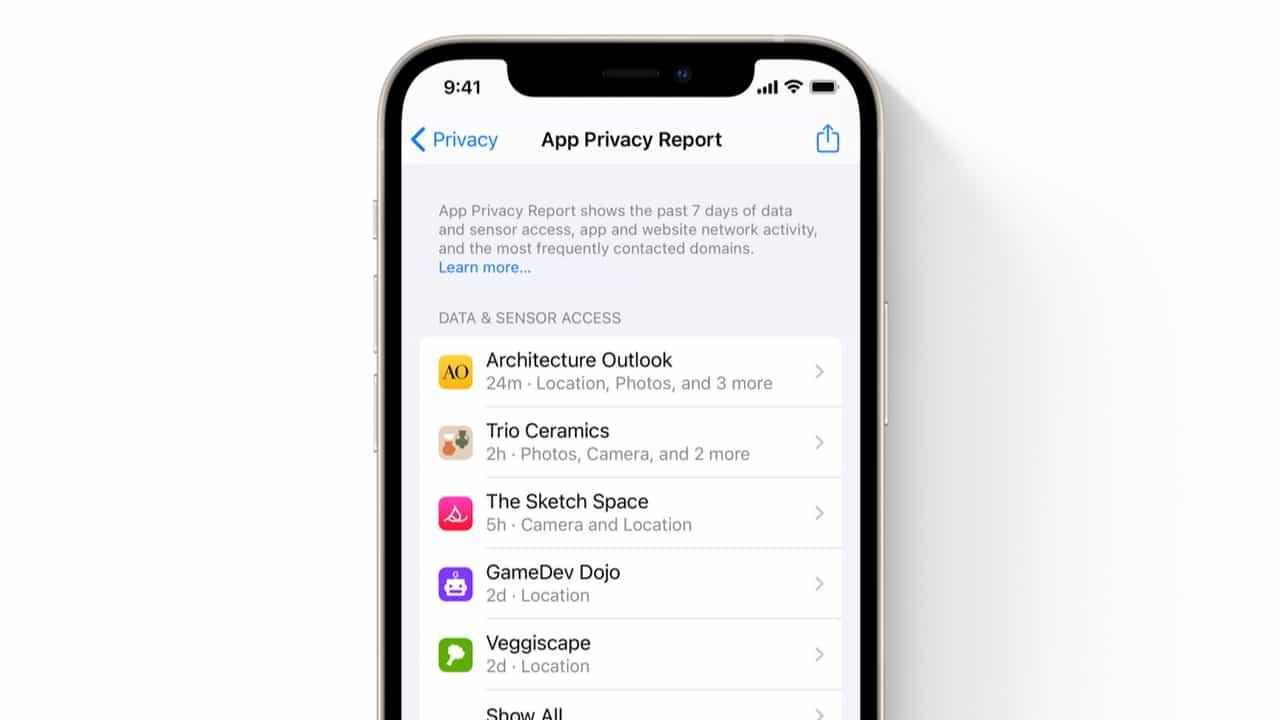 Конфіденційність в iOS 15