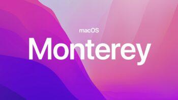macOS Monterey