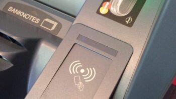 NFC банкомат