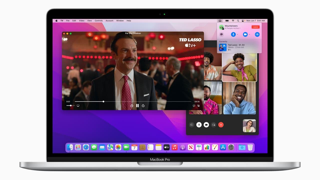 SharePlay - FaceTime - macOS Monterey