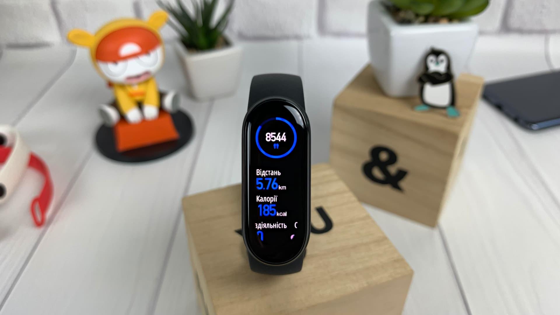 Xiaomi Mi Smart Band 6 (кроки)