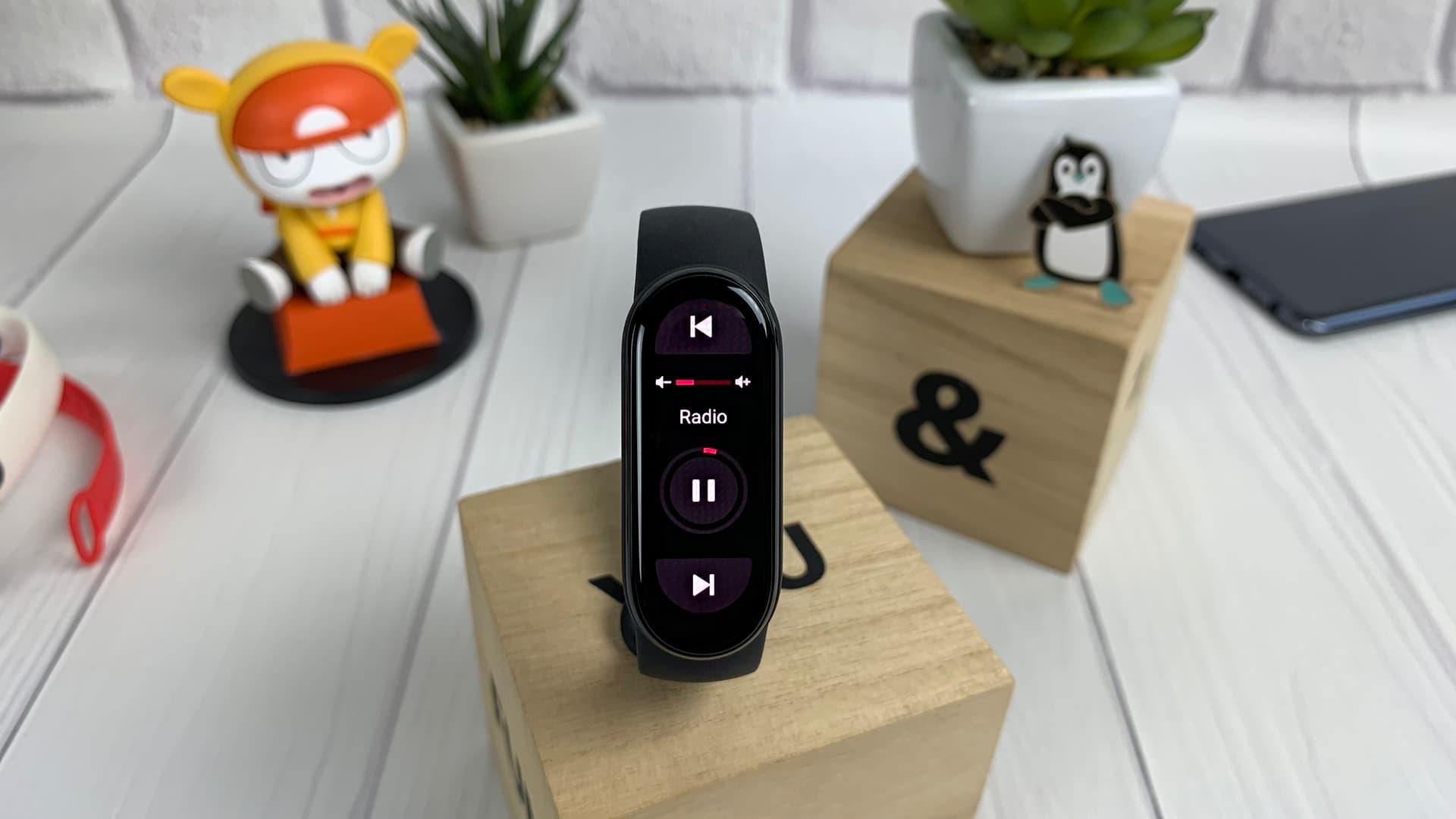 Xiaomi Mi Smart Band 6 (музика)