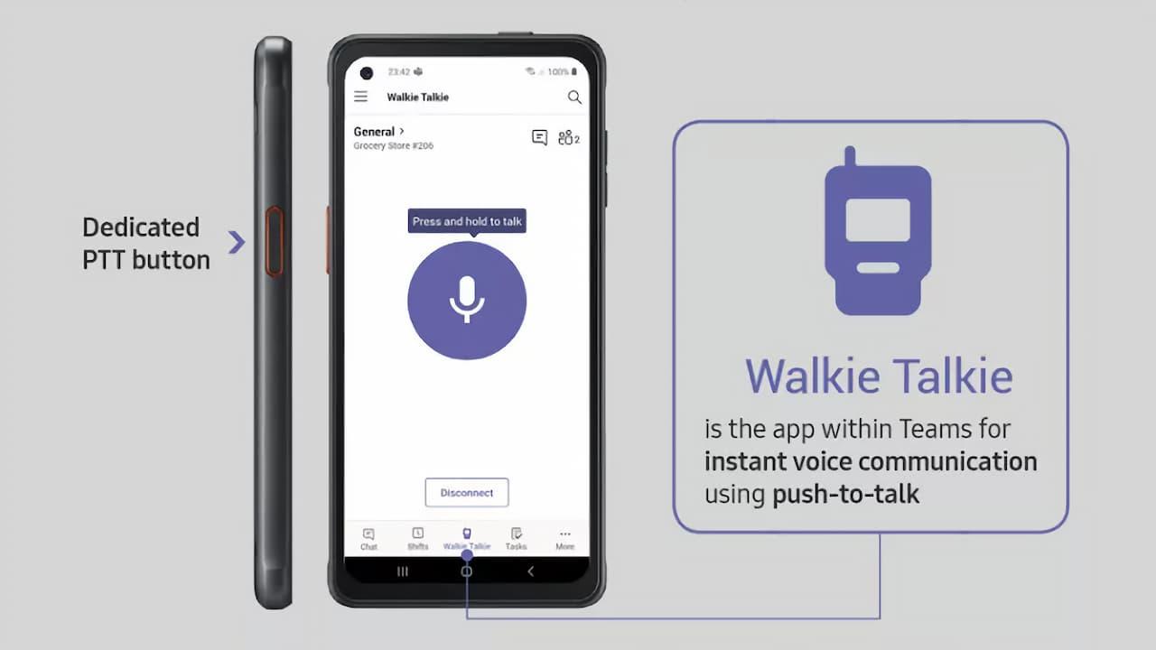 Microsoft Teams - Walkie-Talkie