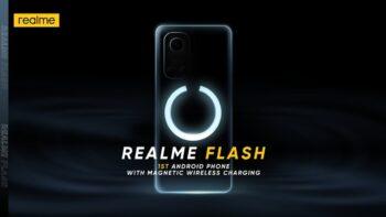 realme Flash - технологія магнітної бездротової зарядки