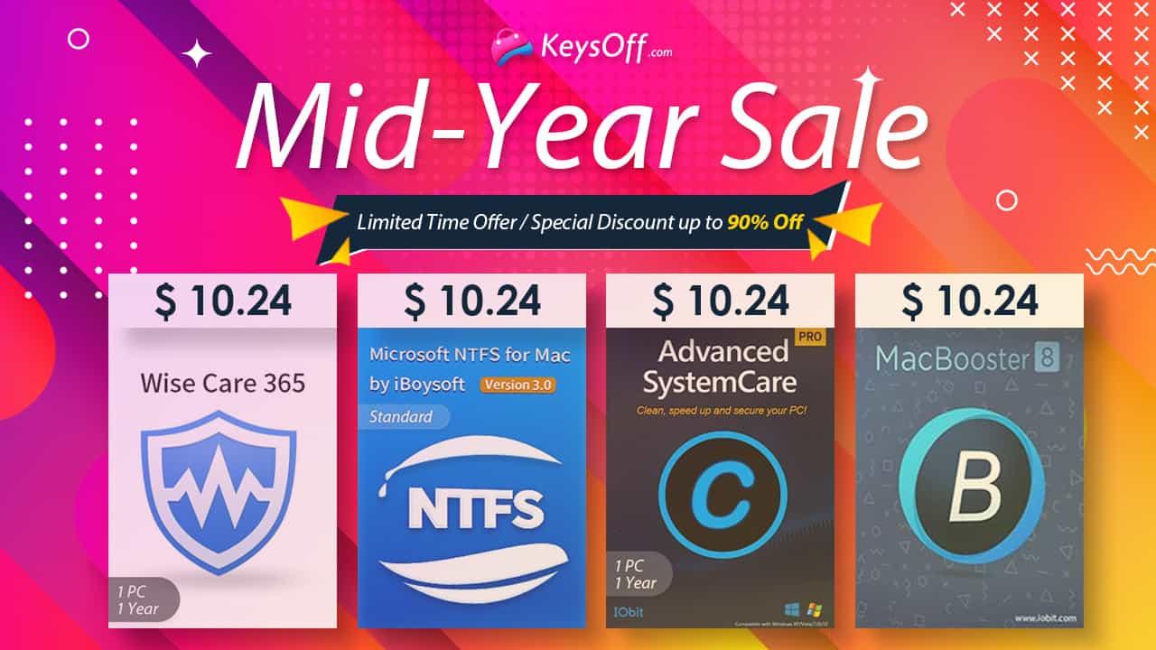Розпродаж від Keysoff в середині року