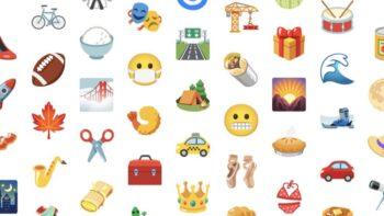 Смайлики Android 12