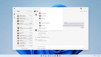 Windows 11 - Чат - Microsoft Teams - Edge WebView2