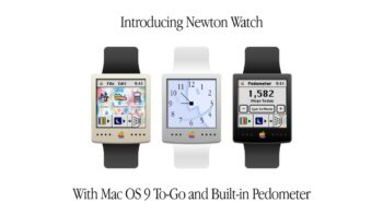 Apple Watch 1990х (Newton Watch)