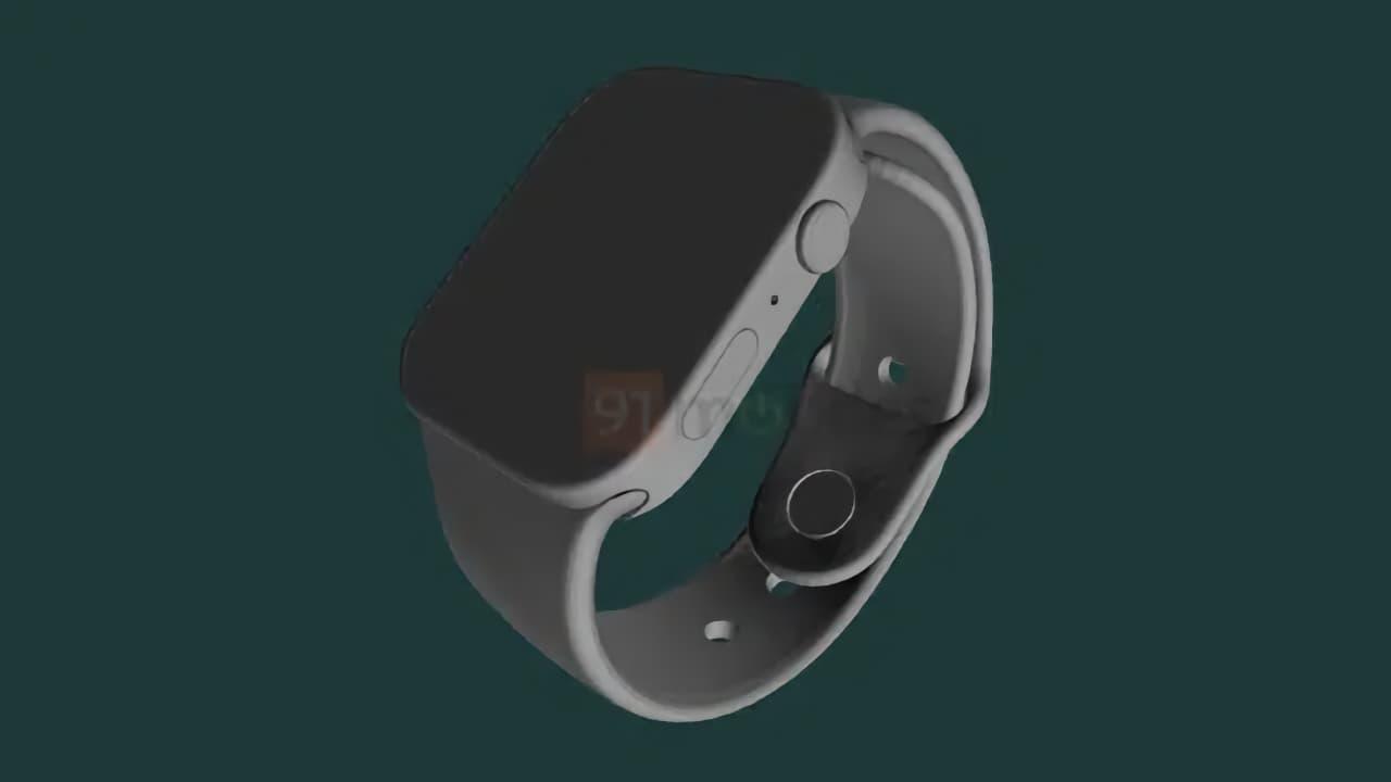 Apple Watch 7 на основі CAD