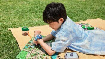 Дитячий розумний годинник Amazfit (Huami Amazfit Happy Duck Children's Health Watch)