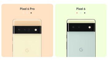 Google Pixel 6 - Google Pixel 6 Pro / Pixel 6 та Pixel 6 Pro