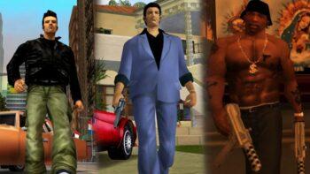 GTA III, Vice City і San Andreas