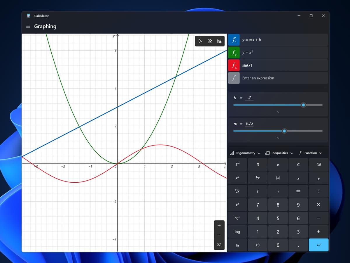 Калькулятор (Calculator) - Windows 11