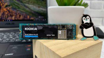 Kioxia Exceria Plus SSD