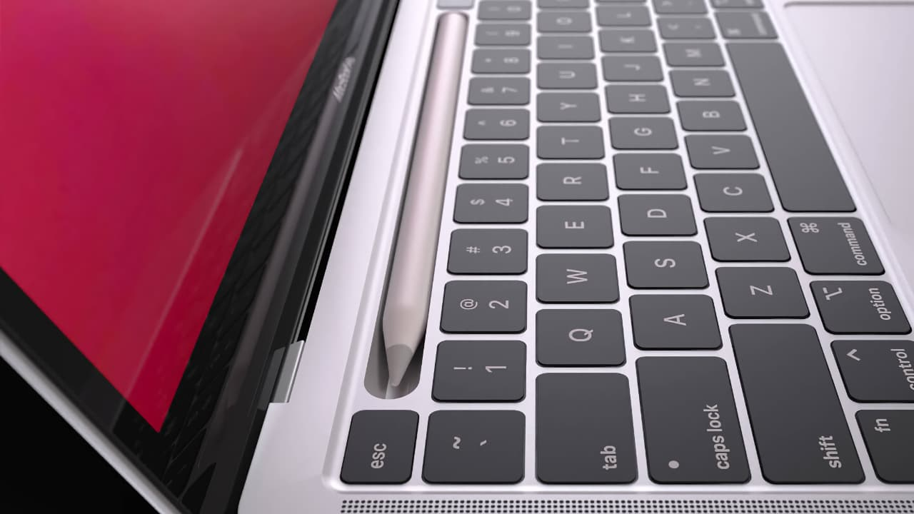 MacBook Pro з підтримкою Apple Pencil