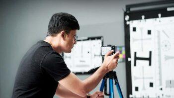 OPPO India - Kaushal Prakash Sharma, Head, Camera Division – at the camera lab