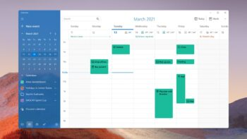 Пошта і календар (Mail & Calendar) - Windows 11