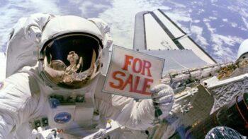 Реклама в космосі - на продаж
