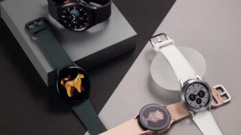Samsung Galaxy Watch4 та Galaxy Watch4 Classic