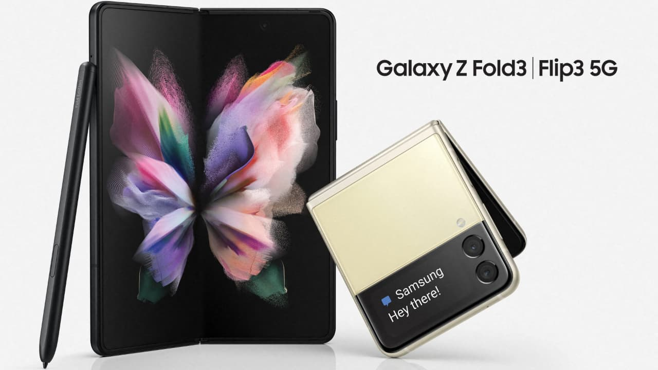 Samsung Galaxy Z Fold3 та Galaxy Z Flip3 / One UI 3.1.1