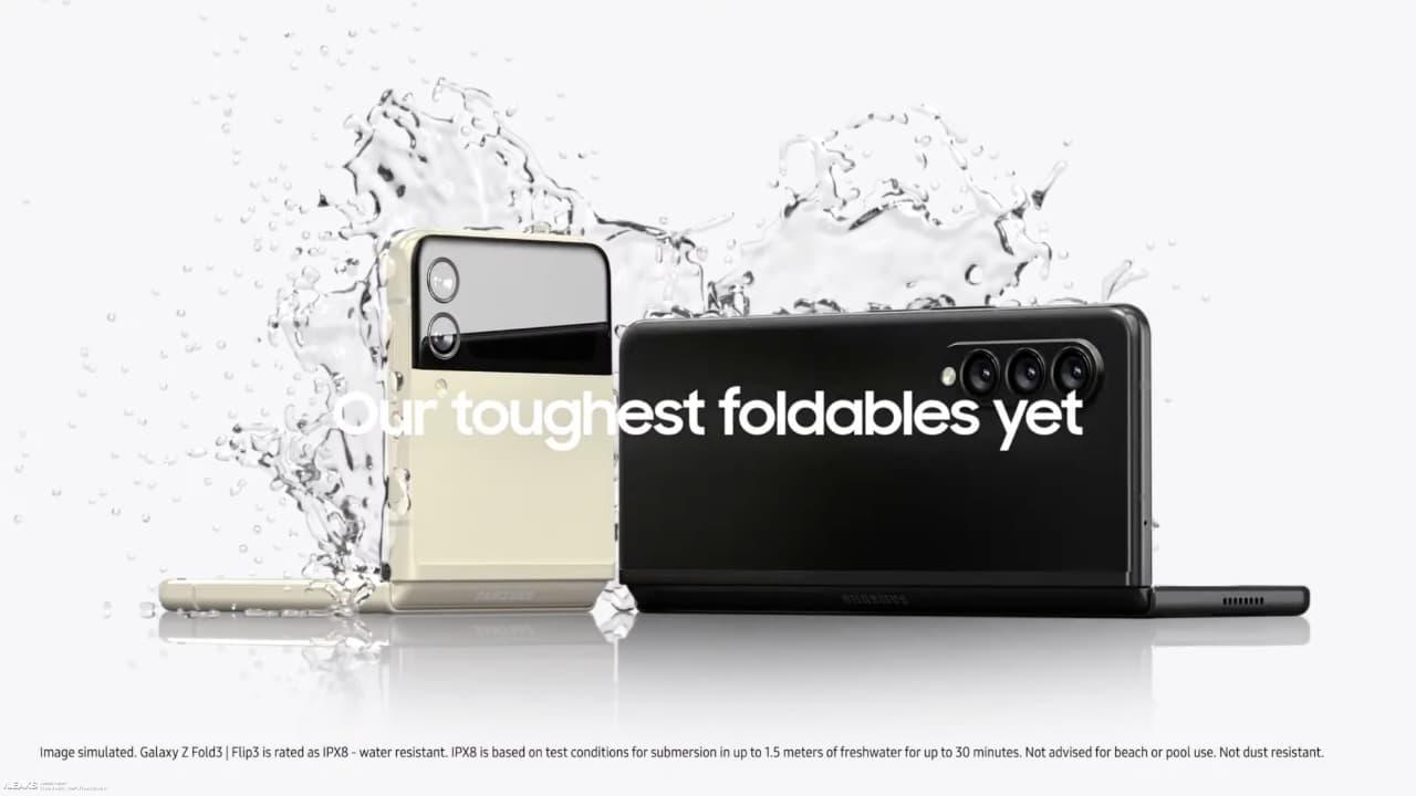 тизер Galaxy Z Fold 3 та Galaxy Z Flip 3