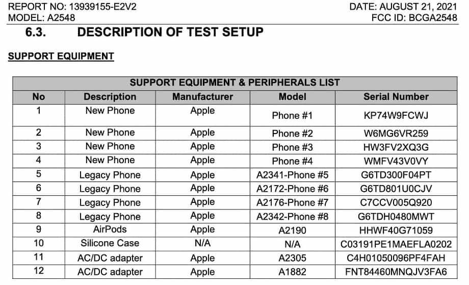 Apple MagSafe FCC