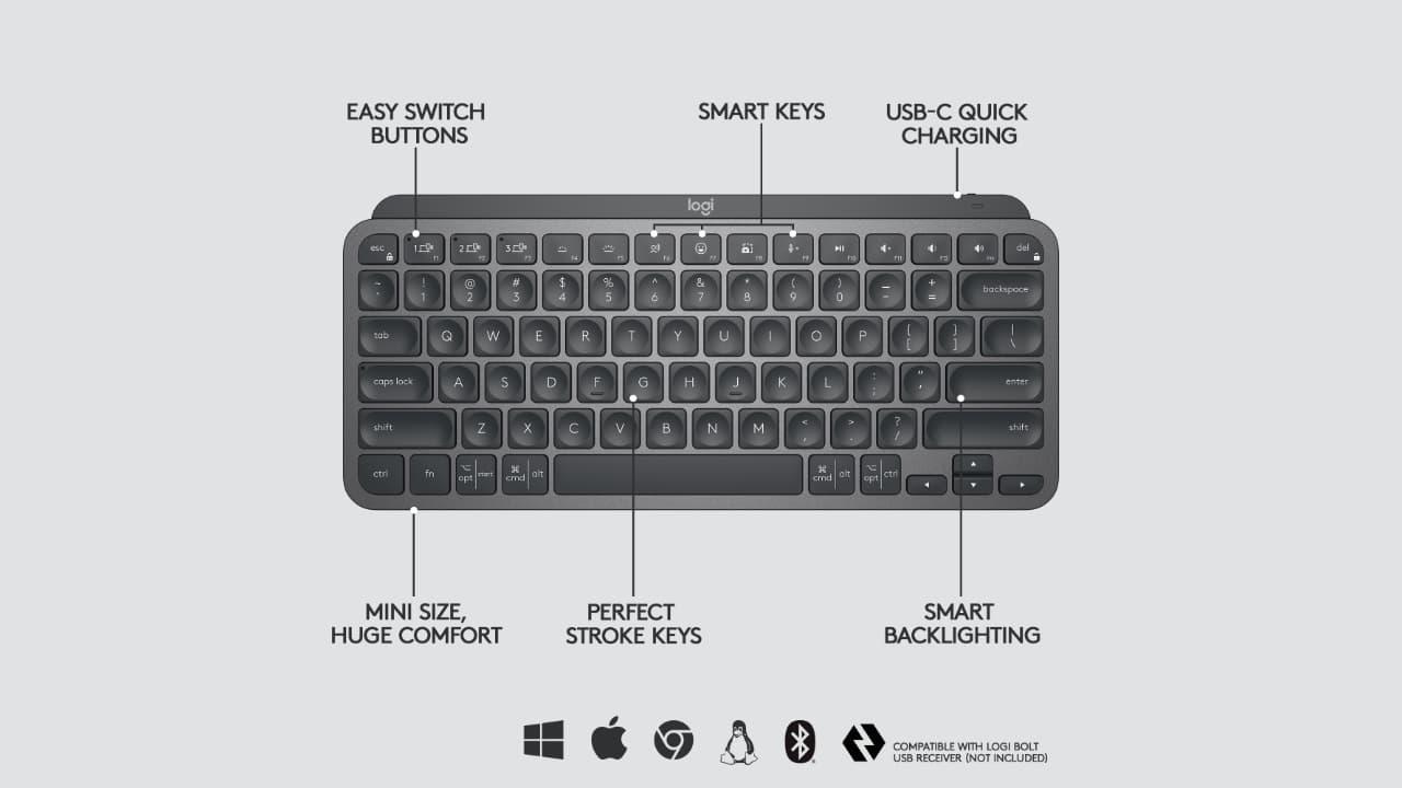 LogitechMX Keys Mini