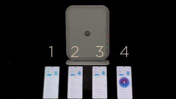Вдосконалена технологія бездротової зарядки Motorola