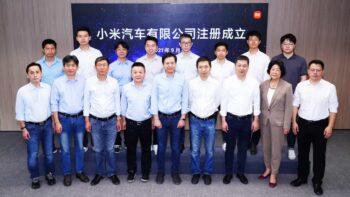 Xiaomi EV з виробництва електромобілів