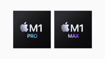 Apple M1 Proта Apple M1 Max