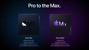 Apple M1 Pro та Apple M1 Max