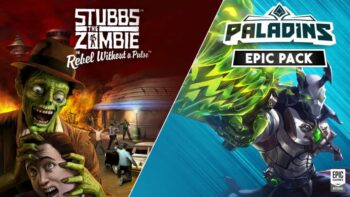 Stubbs the Zombie in Rebel Without a Pulse - набір Epic для гри Paladins